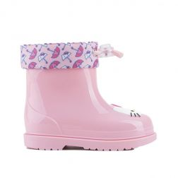 Cizme cauciuc fete Bimbi Hello Kitty Rosa