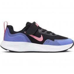 Pantofi Sport Fete CJ3817 Nike Wear All Day Black Sunset Pulse
