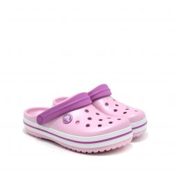 Sandale plaja fete Crocband K. Ballerina Pink
