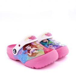 Sandale plaja Fete CrocsFunLab Disney Princess Patch Clog K Pink