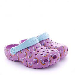 Sandale plaja Fete Crocs Classic Violet