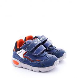 Pantofi Sport Baieti Pillow B.A DK Avio Orange