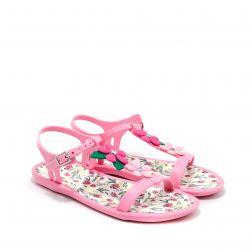 Sandale plaja fete Tricia Floral Rosa