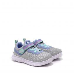 Pantofi Sport Fete Comfy Flex Lucky Sparkles Silver Light Blue