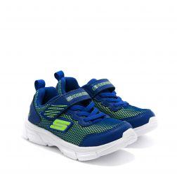 Pantofi Sport Baieti Advanace Intergrid Blue Lime