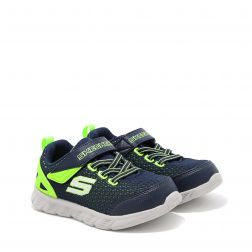 Pantofi Sport Baieti Comfy Flex Interdrift N Navy Lime
