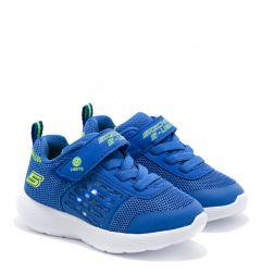 Pantofi Sport Baieti Dyna Lights Blue Lime