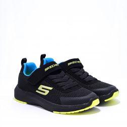 Pantofi Sport Baieti Dynamic Tread Black Lime