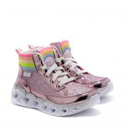 Ghete Fete Heart Lights Rainbow Diva Pink