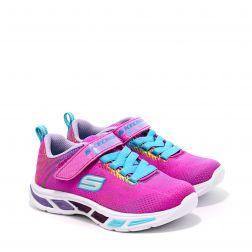 Pantofi Sport Fete Litebeams Gleam N Dream Neon Pink Multi L
