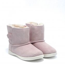 Cizme Imblanite Fete Keelan Sparkle Baby Pink