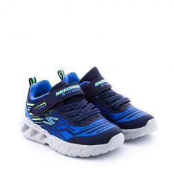 Pantofi Sport Baieti Magna Lights Bozler Blue