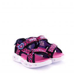 Sandale Fete Heart Lights Sandal Hot Pink L