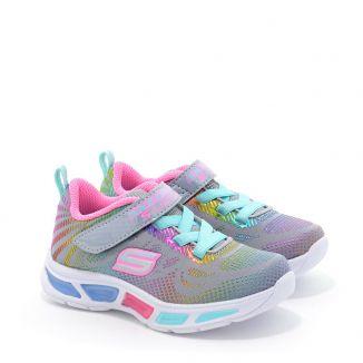 Pantofi Sport fete Litebeams Gleam N Dream Grey Multi