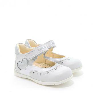 Pantofi fete Kaytan GD 0007 White Silver