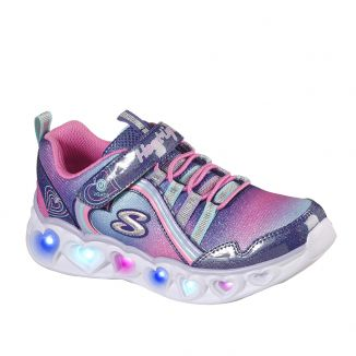 Pantofi Sport Fete Heart Lights Rainbow Lux Navy Multi