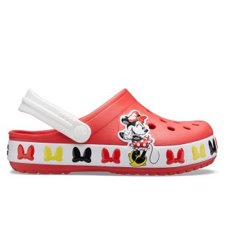 Sandale plaja Fete Crocs Disney Minnie Mouse Flame