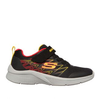 Pantofi sport baieti Microspec Texlor Black Red