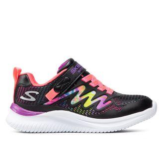 Pantofi sport fete Jumpsters Radiant Swirl Black