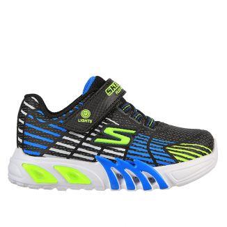 Pantofi sport baieti Flex Glow Elite Blue Lime N