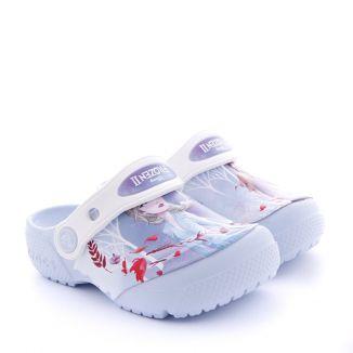 Sandale plaja Fete Crocs Frozen