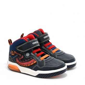 Pantofi Sport Baieti Inek BE Navy Red