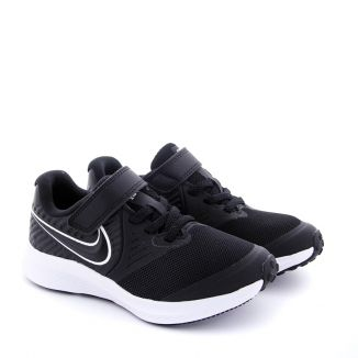 Pantofi Sport Baieti AT1801 Star Runner Black White