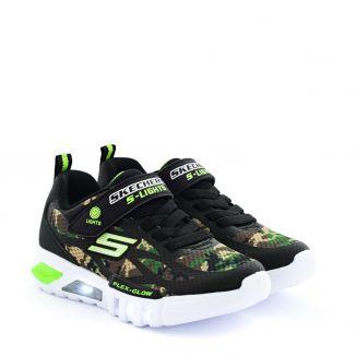Pantofi Sport Baieti Flex Glow L Camouflage
