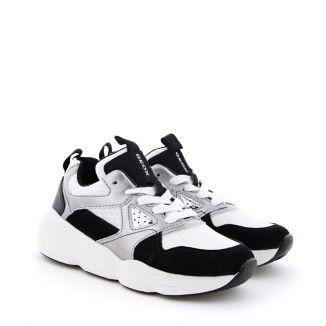 Pantofi Sport Fete Bubblex G.B White Black