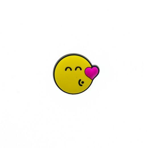Jibbitz Brand Kissing Smiley