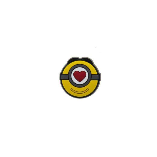 Jibbitz Minions Stuart Love Icon