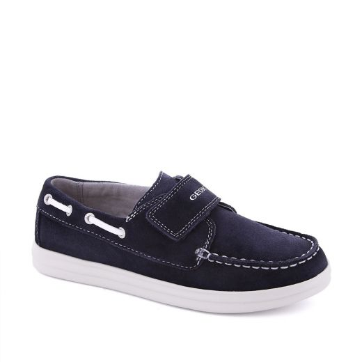 Mocasini baieti Anthor BF Navy White