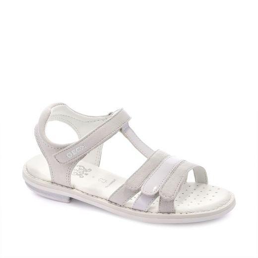 Sandale fete Giglio A White