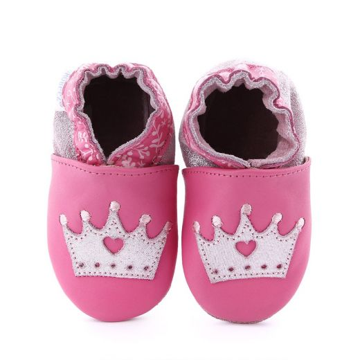 Pantofi bebelusi Princess Story Pink