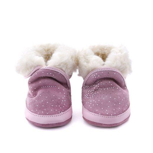 Ghete imblanite bebelusi Cosy Boot light pink