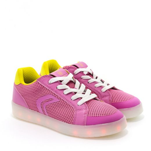 Pantofi Sport fete Kommodor GA Fuchsia LT Yellow
