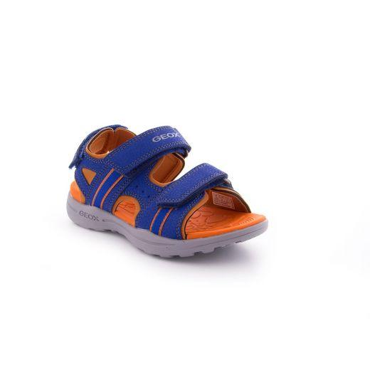 Sandale baieti Gleeful BB Royal Orange
