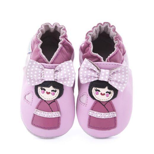 Pantofi bebelusi Aoki Rose