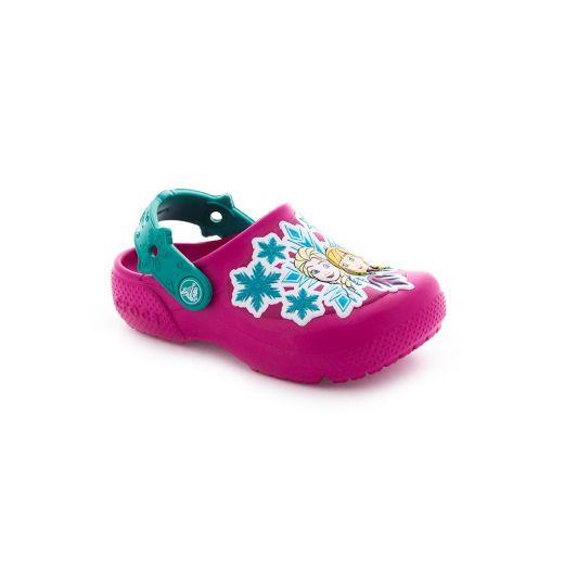 Sandale plaja fete Funlab Frozen Candy Pink