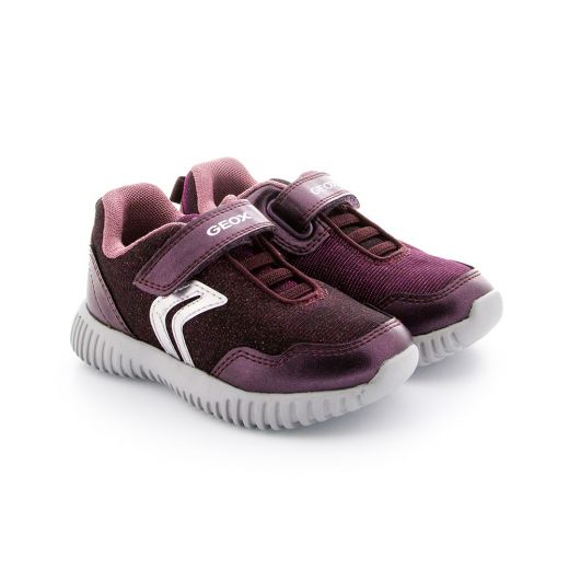 Pantofi Sport fete Waviness GB Dk Burgundy