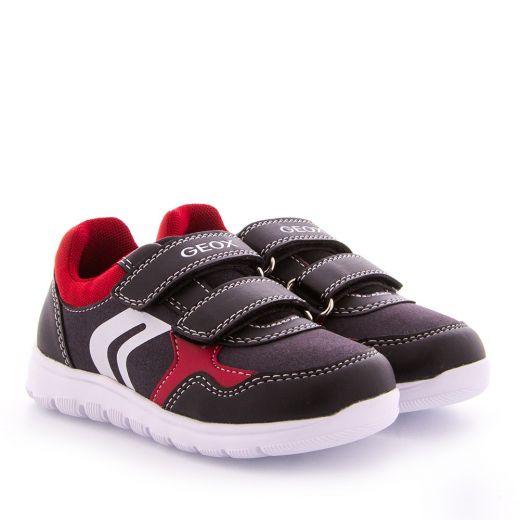 Pantofi Sport baieti Xunday BD Black Dk Red