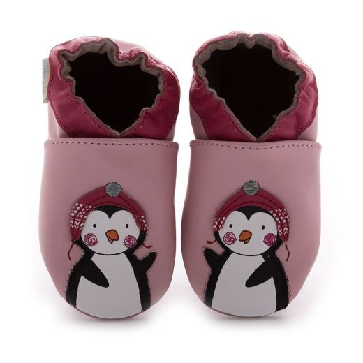 Pantofi fete Pingu stories rose