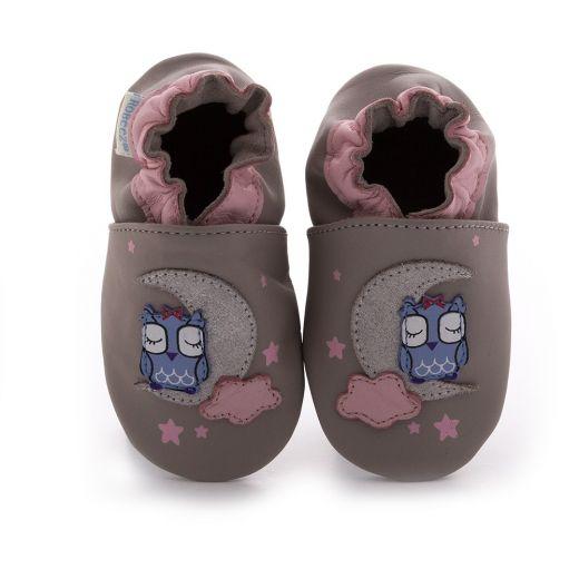 Pantofi fete Natural way gris clair