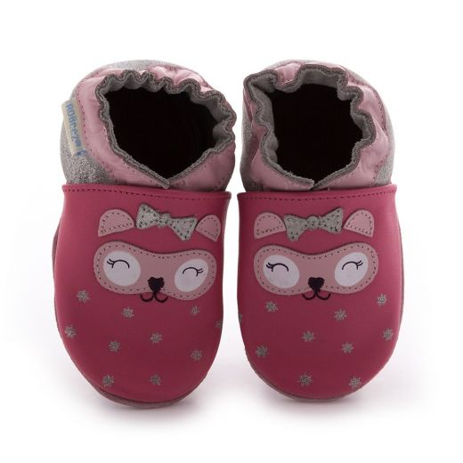 Pantofi fete So Cute Rose Fonce