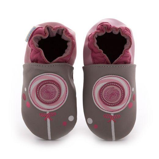 Pantofi fete Lollipop Gris Clair
