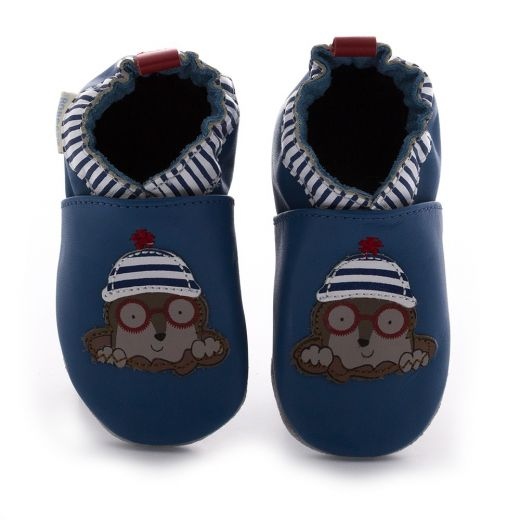 Pantofi baieti Funny Mole Turquoise