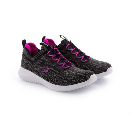 Pantofi Sport fete Ultra Flex Bright Horizon Black Hot Pink