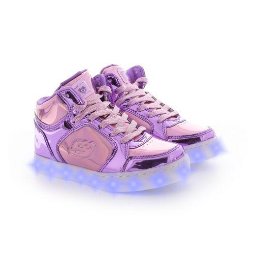 Ghete fete Energy Lights Shiny Brights Pink Purple
