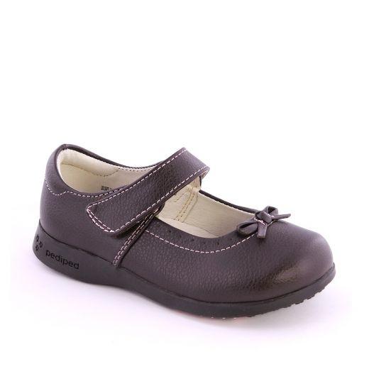 Pantofi fete Isabella Choc Brown
