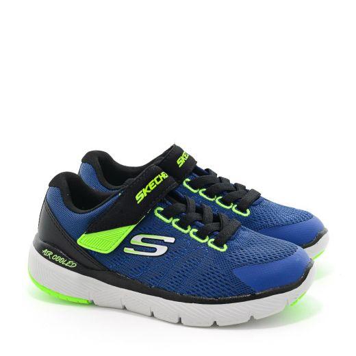 Pantofi Sport baieti Flex Advantage III Royal Black